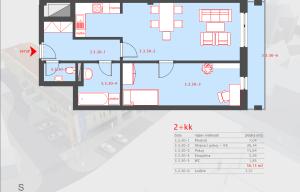 Moderní byt 2+KK Neveklov