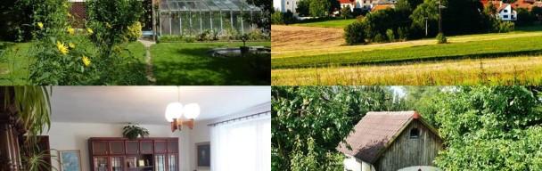 Prostorný dům 7+1  v zeleni, garáž, dílna, techn zázemí, zahrada s grilemObec Kámen – (u Pelhřimova) – Prodáno