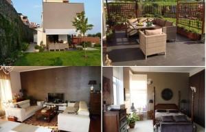 Moderní koncový ŘRD 5+KK s terasami, garáž pro 2 auta, zahradaPraha Smíchov